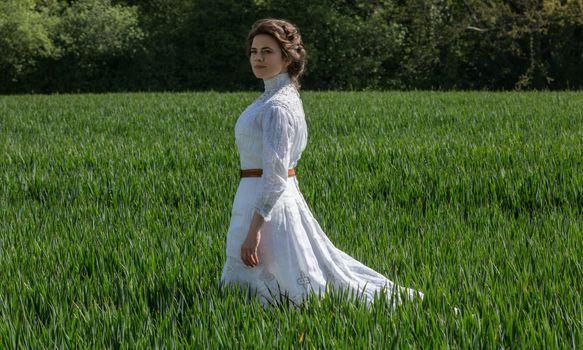 Photo free Hayley Atwell, girls, white dress