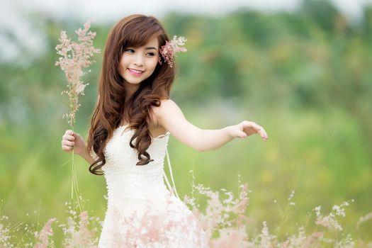 Фото бесплатно Nana Xinh, модель, свадебное платье