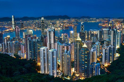 Фото бесплатно Гонконг, Китай