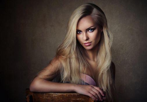 Фото бесплатно очаровательная, русская, модель