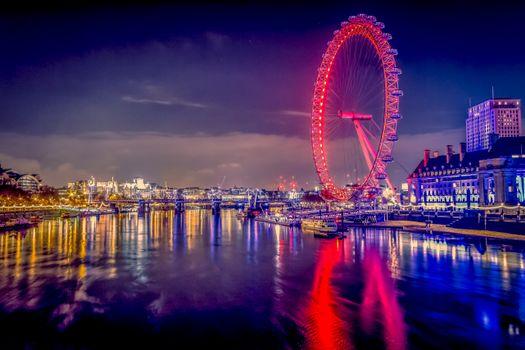 Photo free illumination, Westminster, London