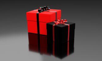 Фото бесплатно праздник, подарок, украшение