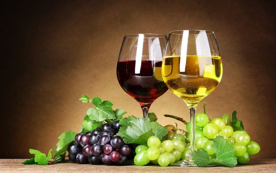 Photo free berries, fruit, glasses
