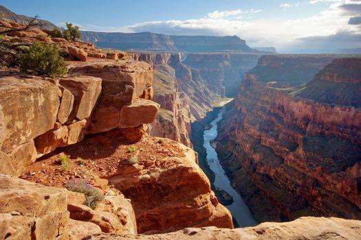 Фото бесплатно небо, каньон, скалы