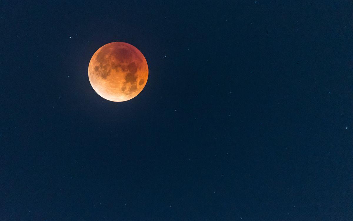 Красная Луна · бесплатное фото