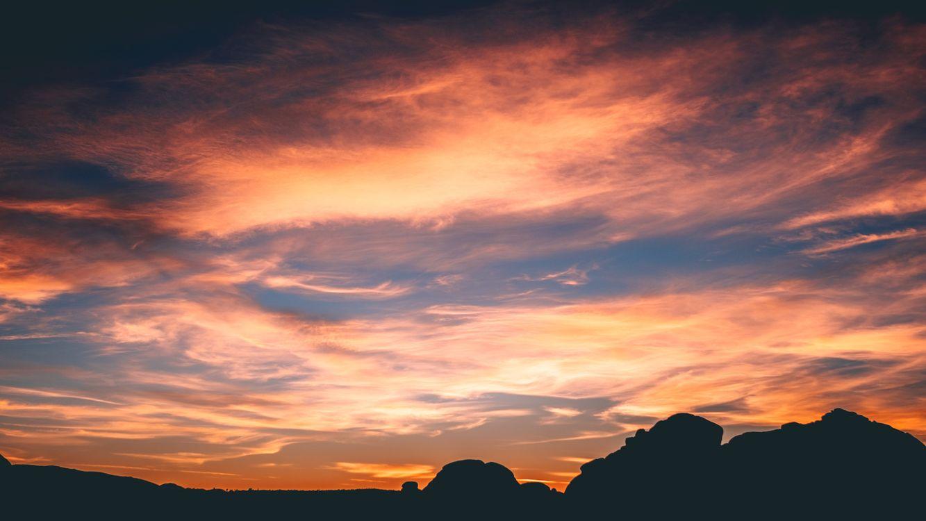 Free photo rocks, sky, clouds - to desktop