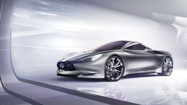 Photo free car, concept car, infiniti emerg e