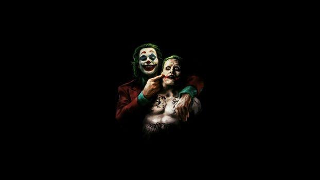 Заставки Joker, Supervillain, Joaquin Phoenix
