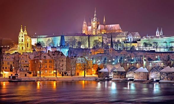 Фото бесплатно Czech Republic, Prague castle, городок