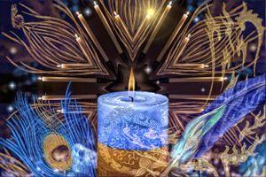 Бесплатные фото абстракция,свеча,пламя,перо,art