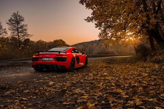 Photo free Behance, cars, Audi R8