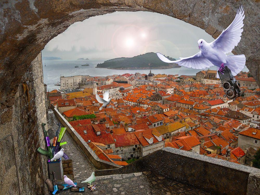 Фото бесплатно Дубровник, Хорватия, город - на рабочий стол