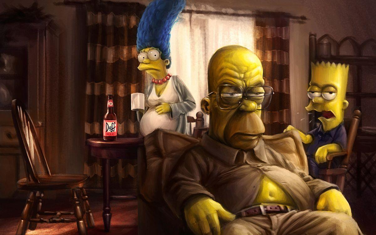 Фото бесплатно The Simpsons, Cartoons, Animated Tv Series - на рабочий стол