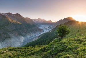 Фото бесплатно горы, небо, Швейцария