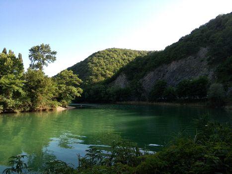 Photo free Tarn, mountains, lake