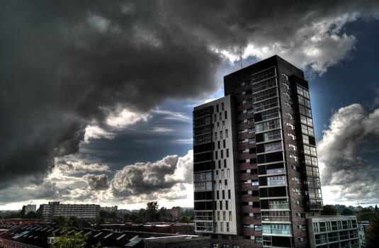 Фото бесплатно шторм, столичная область, солнечные лучи