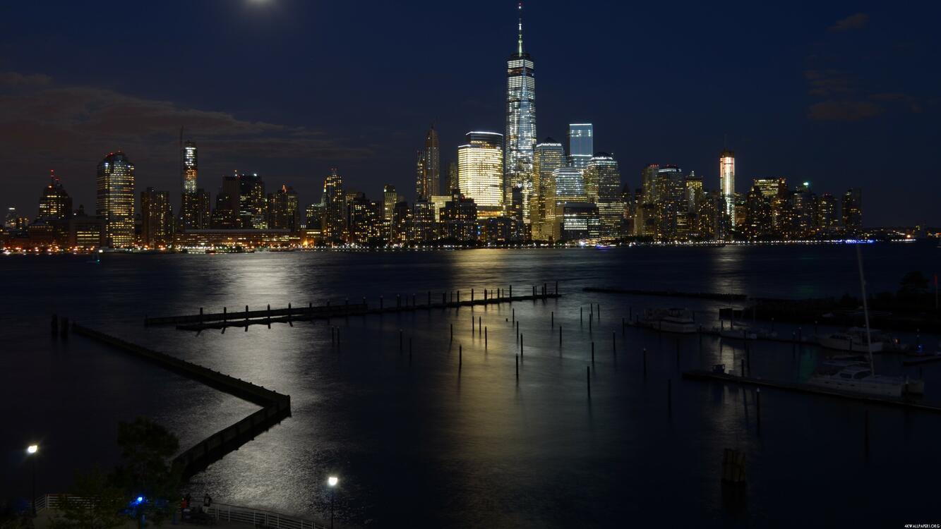 Фото единый мировой торговый центр городской пейзаж США - бесплатные картинки на Fonwall
