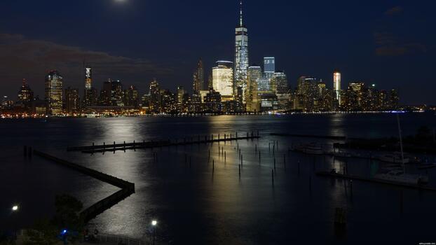 Фото бесплатно единый мировой торговый центр, городской пейзаж, США