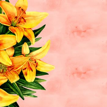 Photo free flower, paper, lilies