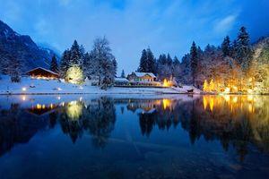 Фото бесплатно пейзаж, Швейцария, деревья