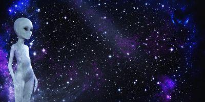 Фото бесплатно небо, космос, гуманоид