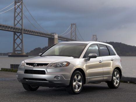 Photo free Acura, white, front view