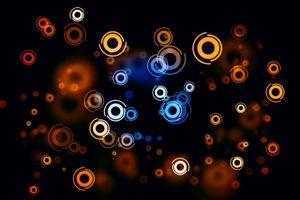 Фото бесплатно круги, пятна, красочные
