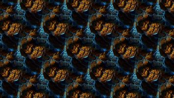Заставки абстрактный, трехмерный фрактал, фрактал, узор, цифровое искусство, abstract, 3D fractal