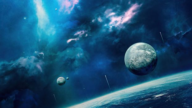 Photo free space, deviant art, planet