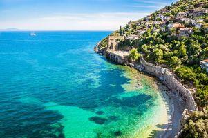 Фото бесплатно Турция, море, город