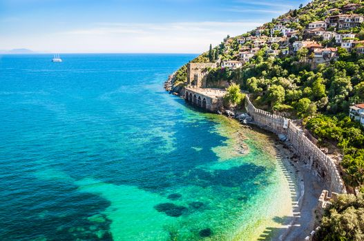 Photo free Turkey, sea, town