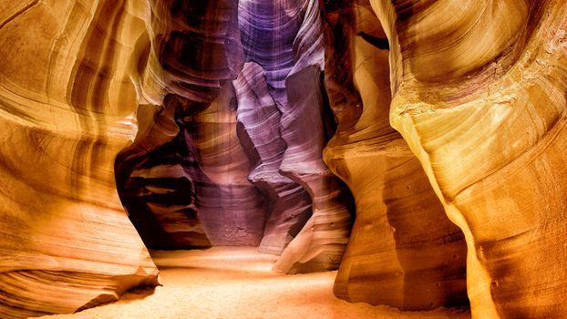 Photo free antelope canyon, rocks, earth