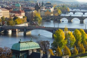 Photo free Prague, Czech Republic, Vltava River