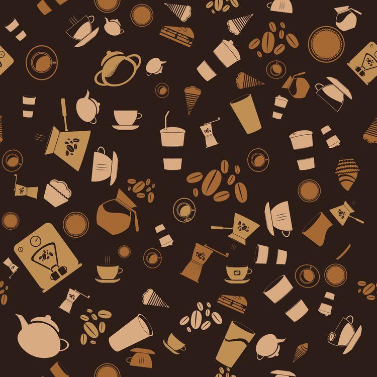 Текстура из столовых предметов · бесплатное фото