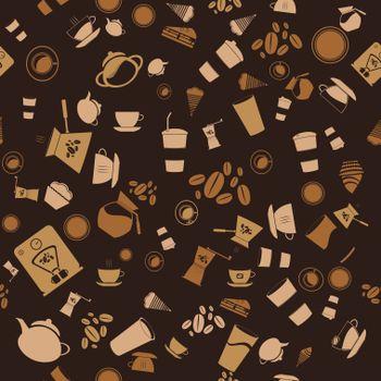 Текстура из столовых предметов