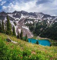 Бесплатные фото Colorado,озеро,горы,деревья,пейзаж