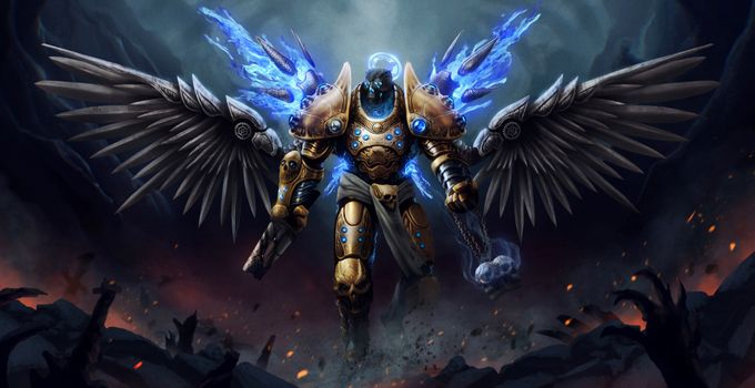 Photo free warrior, armor, wings