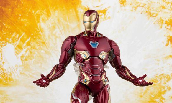 Фото бесплатно железный человек, Мстители Бесконечная война, игрушки