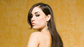 Фото бесплатно каштановые волосы, порнозвезда, девушка