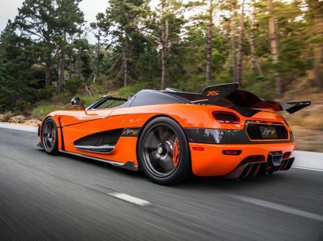 Photo free Koenigsegg Agera, racing cars, road