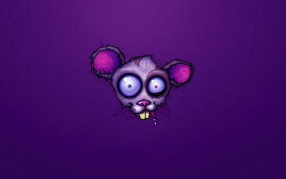 Фото бесплатно мышь, художник, произведение искусства