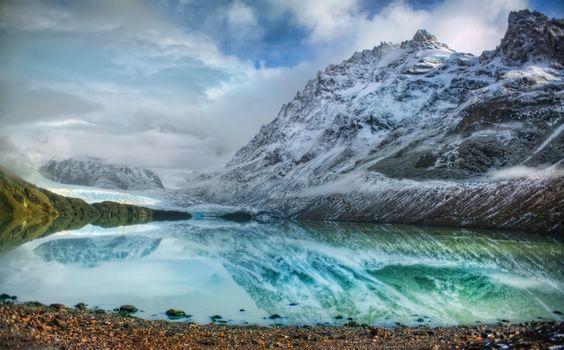 Photo free Argentina, mountains, lake