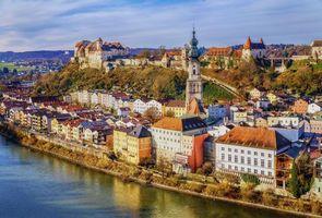 Бесплатные фото Бургхаузен,Замок,Bavaria,Salzach,Бавария,Германия
