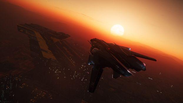 Фото бесплатно Star Citizen, игры, космический корабль