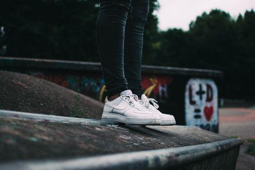 Фото бесплатно кроссовки, ноги, спорт