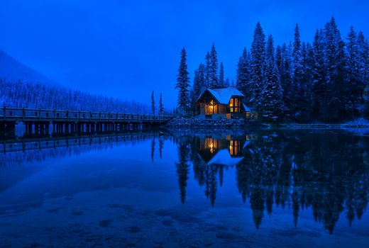 Photo free Emerald Lake, Yoho, National Park