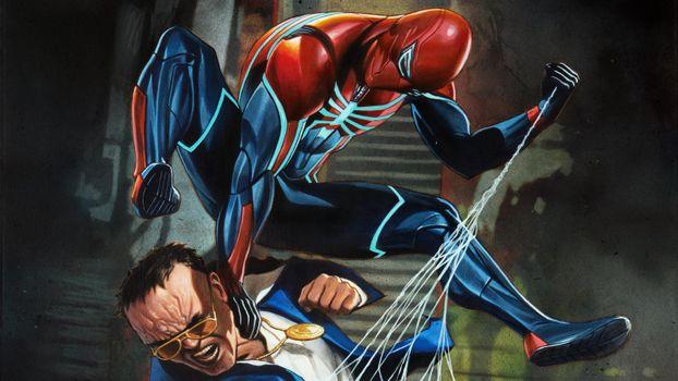 Photo free Spiderman PS4, Spiderman, 2018 games