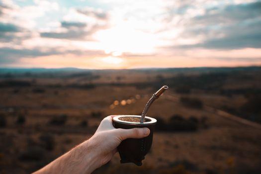 Бесплатные фото кофе,Уругвай,Yerba,Мано,Paisaje,пейзаж,напиток,закат солнца,Atardecer,Золь,солнце,небо