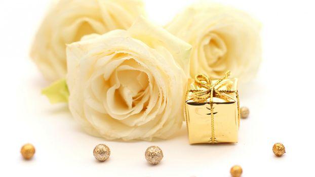 Бесплатные фото роза,подарок,декор