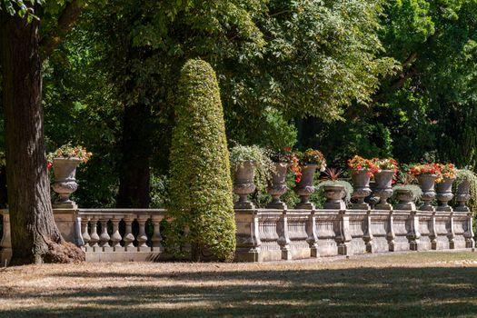 Фото бесплатно парк, дизайн, кустарниковый забор